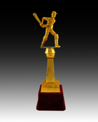 BT 251 Cricket Fiber Trophy
