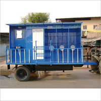 Portable Toilet Van