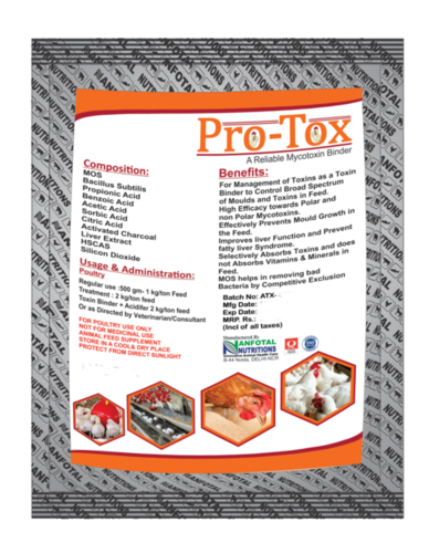 Poultry Feed Toxin Binder (Protox)
