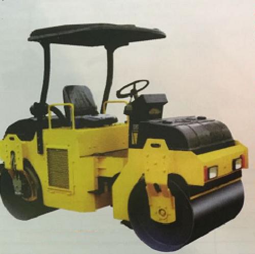 Mini road roller