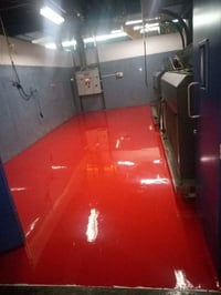 epoxy flooring of different thickness