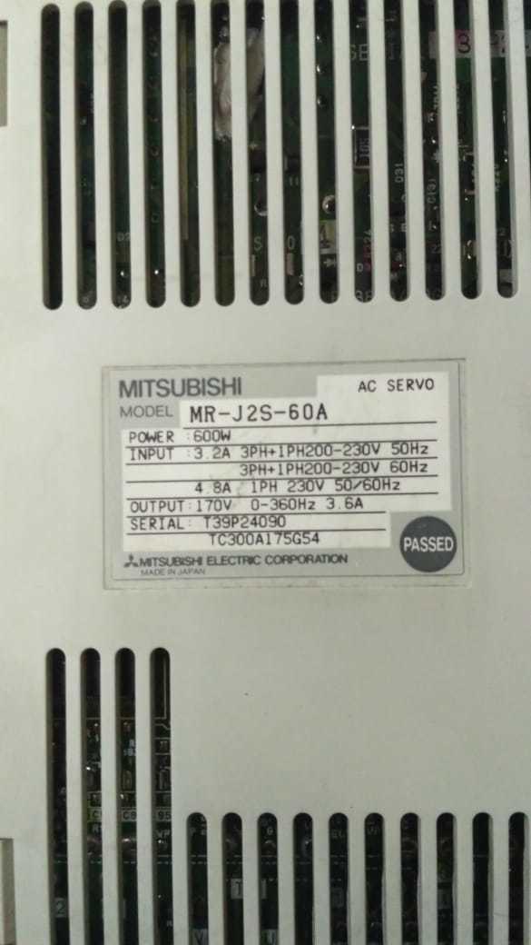 MITSUBISHI MR-J2S-60A