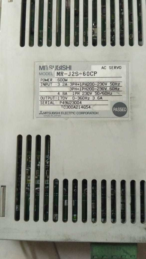MITSUBISHI MR-J2S-60CP