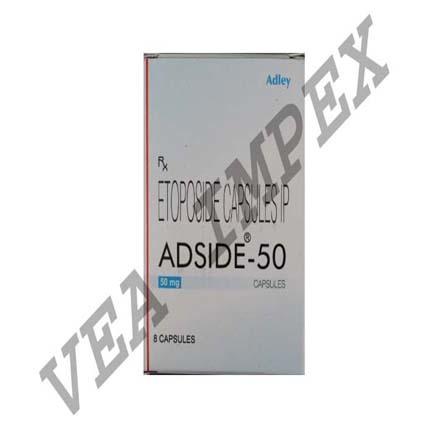 Adside 50(Etoposide Capsules)