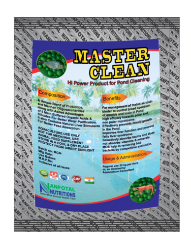 Aquaculture Pond Cleaner And Sanitizer (Master Clean)