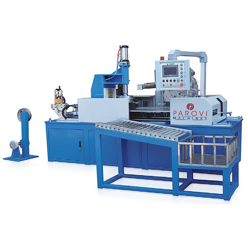 Automatic Plc Coil Wrapping Machine
