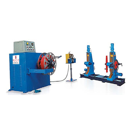 Big Cross Section Semi Automatic Coiling Machine