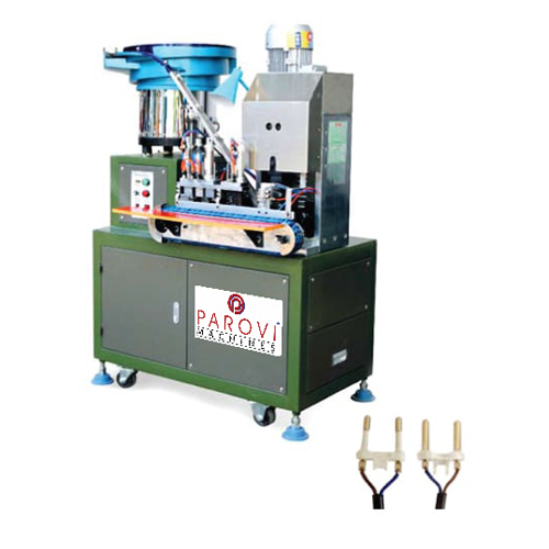 Automatic 2pin Insert Crimping Machine