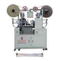 Automatic Ribbon Wire Thimble Crimping Machine