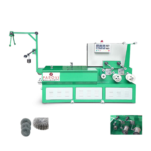 Scourer Wire Drawing Machine