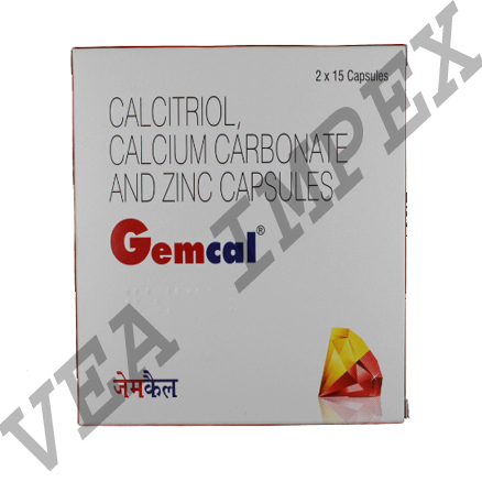 Gemcal(Calcitriol Calcium Carbonate Capsules)