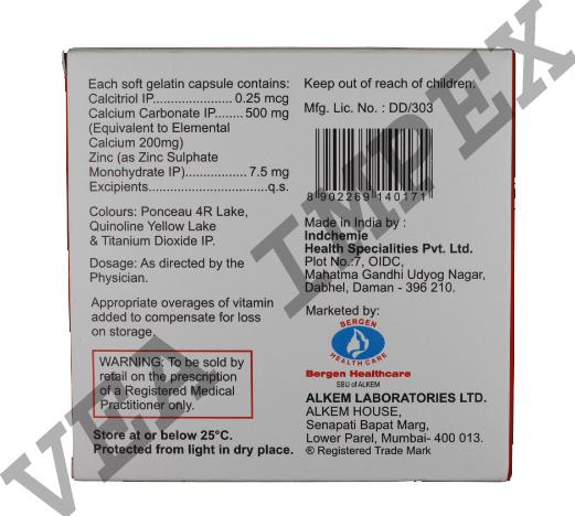 Gemcal(Calcitriol Calcium Carbonate Capsules)