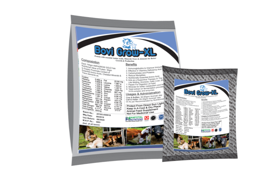 Cattle Growth Promoter Supplement & Mineral Mixture (Bovi Grow XL)