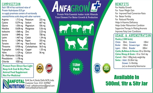 Growth Promoter Liquid (Anfagrow Plus)