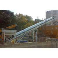 Swivel chute & belt conveyor suitable for MP 30 Aquarius plant aggregate feeding