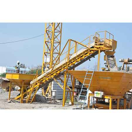 Swivel chute & belt conveyor suitable for MP 20 Aquarius Plant