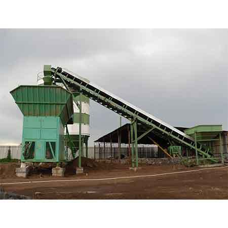 Swivel chute & Belt Conveyor suitable for M1 Schwing Stetter plant aggregate hopper
