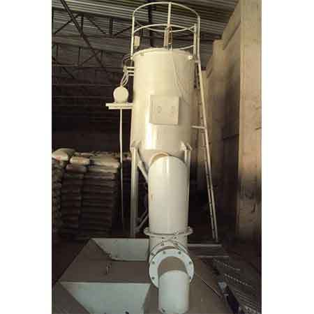 Dust extracting system in Cement bag godown