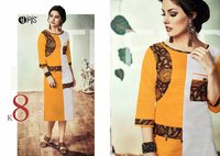 Rayon Fancy Printed Kurtis