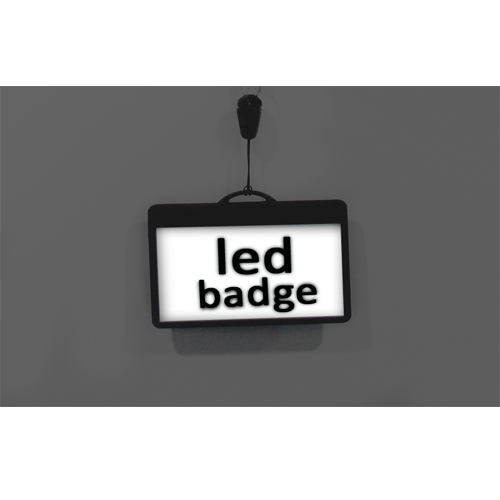LED Flashing Badge