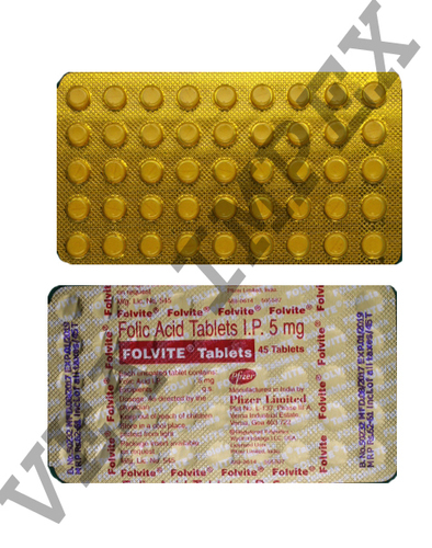 Folvite Tablets(Folic Acid Tablets