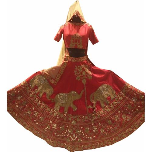 Wedding Red Lehenga