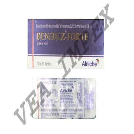 Benibuz-Forte(Benidipine Hydrochloride Telmisartan)