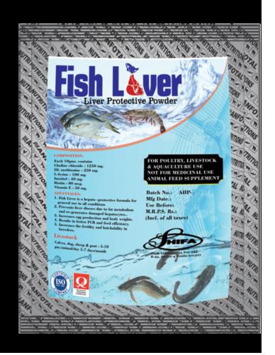 Liver Supplement For Aquatic Animals (Fish Liver)