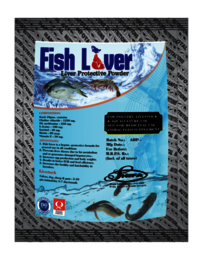 Liver Supplement For Aquatic Animals (Fish Liver)