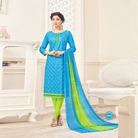 Fancy Cotton Embroidered Salwar Suit