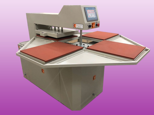 Four Bed Automatic Heat Press Machine