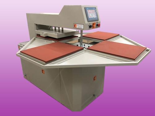 Four Bed Automatic Heat Press Machine