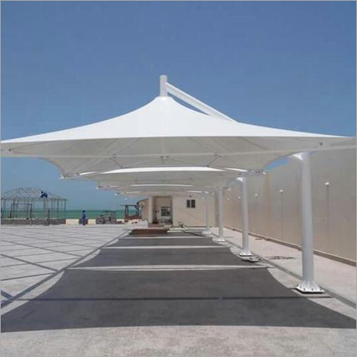 Modular White Tensile Structures