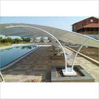 Poolside Tensile Structure