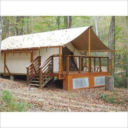 Luxury Wooden Cottage Tent
