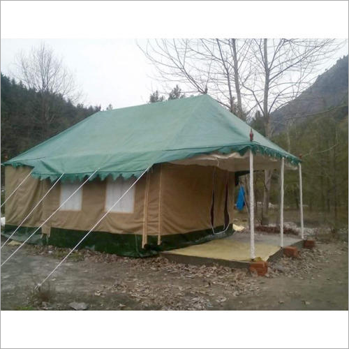 Swiss White Cottage Tent
