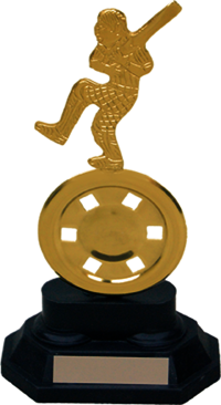 MT 3452 Cricket Metal Trophy