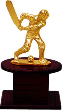 MT 3400 Cricket Metal Trophy