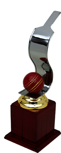 MT 3375 Metal Cricket Trophy