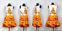 Ladies Printed One Piece Dress