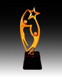 BT 554 Star Fiber Trophy