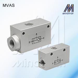 Shuttle Valve  Model: MVAS