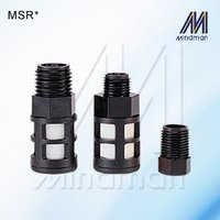 Plastic Silencer  Model: MSR