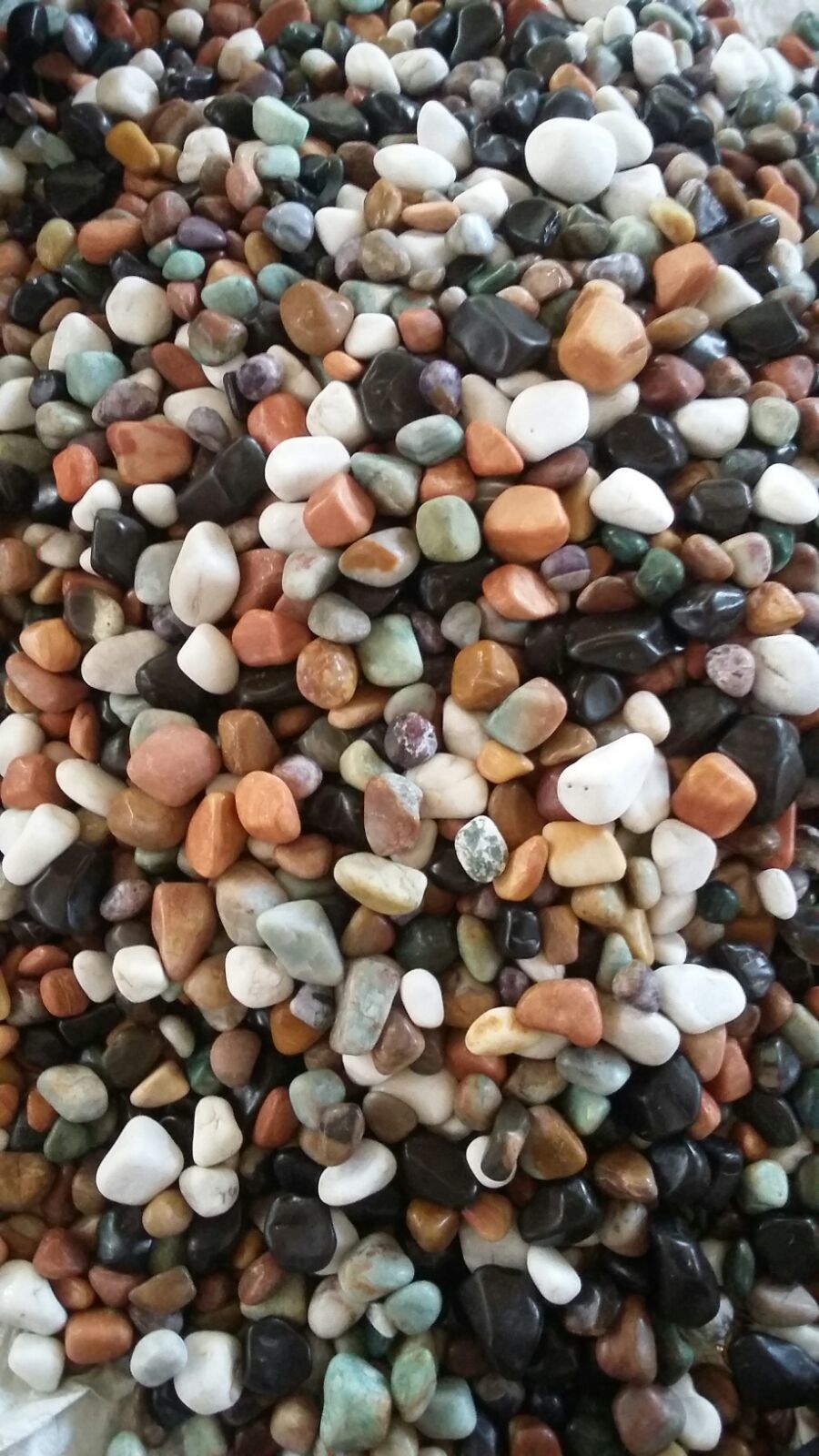 Mix Color Polished Agate Stone