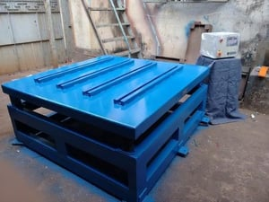 Vibrating Table For Heavy Concrete Cast Slabs