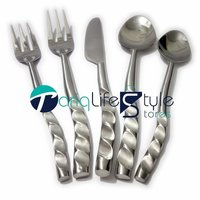 Curve Design Flatware Serving Set