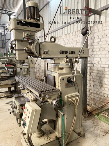 Simplon Vertical Milling Machine