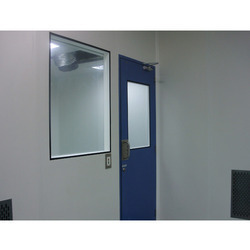 Clean Room Wall Panel With Partition