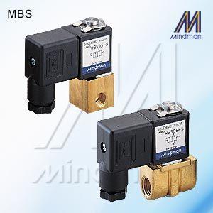 Solenoid Valve MBS Series   Model: MBS