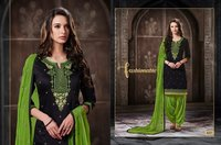 Latest Pure Cotton Patiala Suits